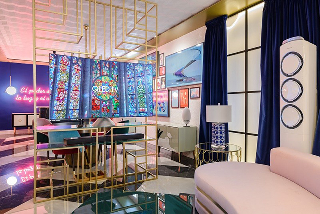 BRABBU at Casa Décor 2017: Guille García Hoz and Beatriz Silveira Joined Forces For Samsung in Home Décor BRABBU at Casa Décor 2017: Guille García Hoz and Beatriz Silveira Joined Forces For Samsung in Home DécorBRABBU at Casa D  cor 2017 Guille Garc  a Hoz and Beatriz Silveira Joined Forces For Samsung in Home D  cor 2