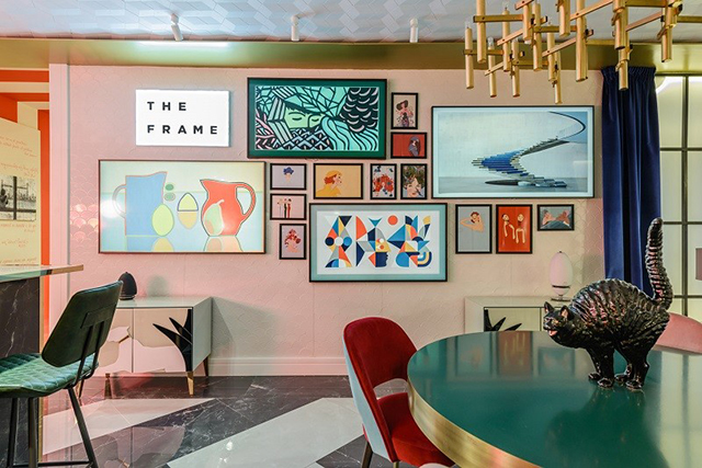 BRABBU at Casa Décor 2017: Guille García Hoz and Beatriz Silveira Joined Forces For Samsung in Home Décor BRABBU at Casa Décor 2017: Guille García Hoz and Beatriz Silveira Joined Forces For Samsung in Home DécorBRABBU at Casa D  cor 2017 Guille Garc  a Hoz and Beatriz Silveira Joined Forces For Samsung in Home D  cor 3