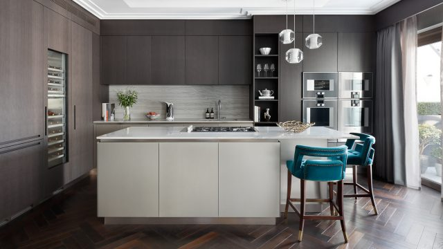 Beau House: A Modern Interior Design Project By Oliver Burns beau houseBeau House: Oliver Burns' Newest Project Will Impress YouKitchen e1500026395184