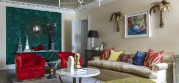 Colorful Residential Project Powered By Alexander Kozlov Interiors