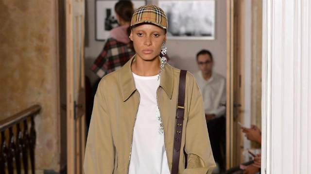 London Fashion Week Spring 2018: The Unexpected Top Colors London Fashion WeekLondon Fashion Week Spring 2018: The Unexpected Top ColorsBurberry Warm Sands