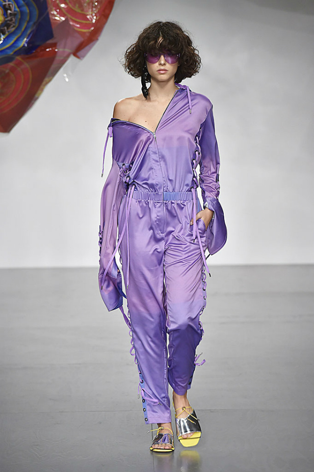 London Fashion Week Spring 2018: The Unexpected Top Colors London Fashion WeekLondon Fashion Week Spring 2018: The Unexpected Top ColorsFyodor Golan Ultra Violet