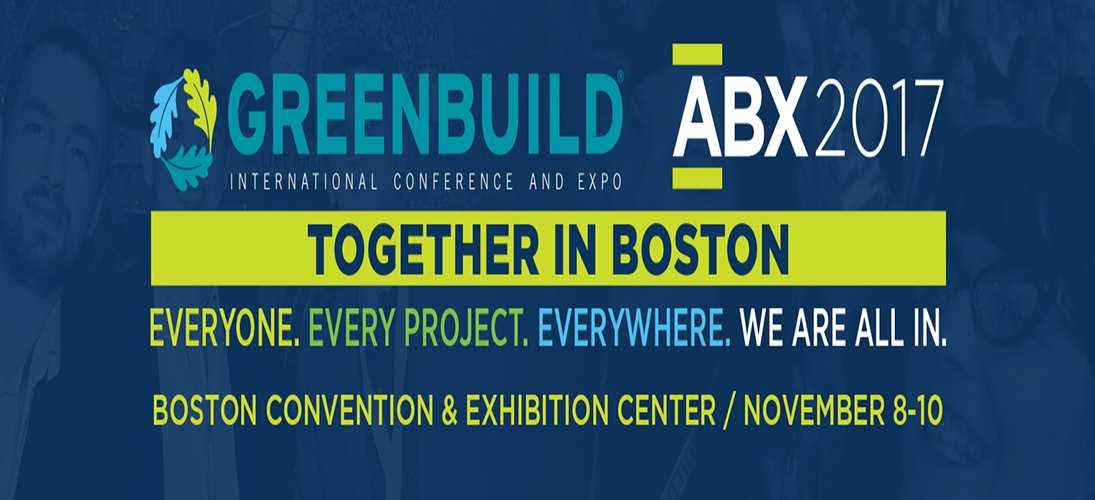 Greenbuild: Because Design Can Also Help The World greenbuildGreenbuild: Because Design Can Also Help The WorldGreenbuild 2017 banner