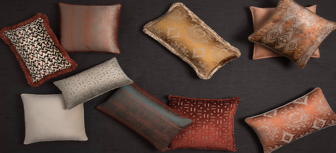 Decorative Pillows: BRABBU's New Fierce And Colorful Collection