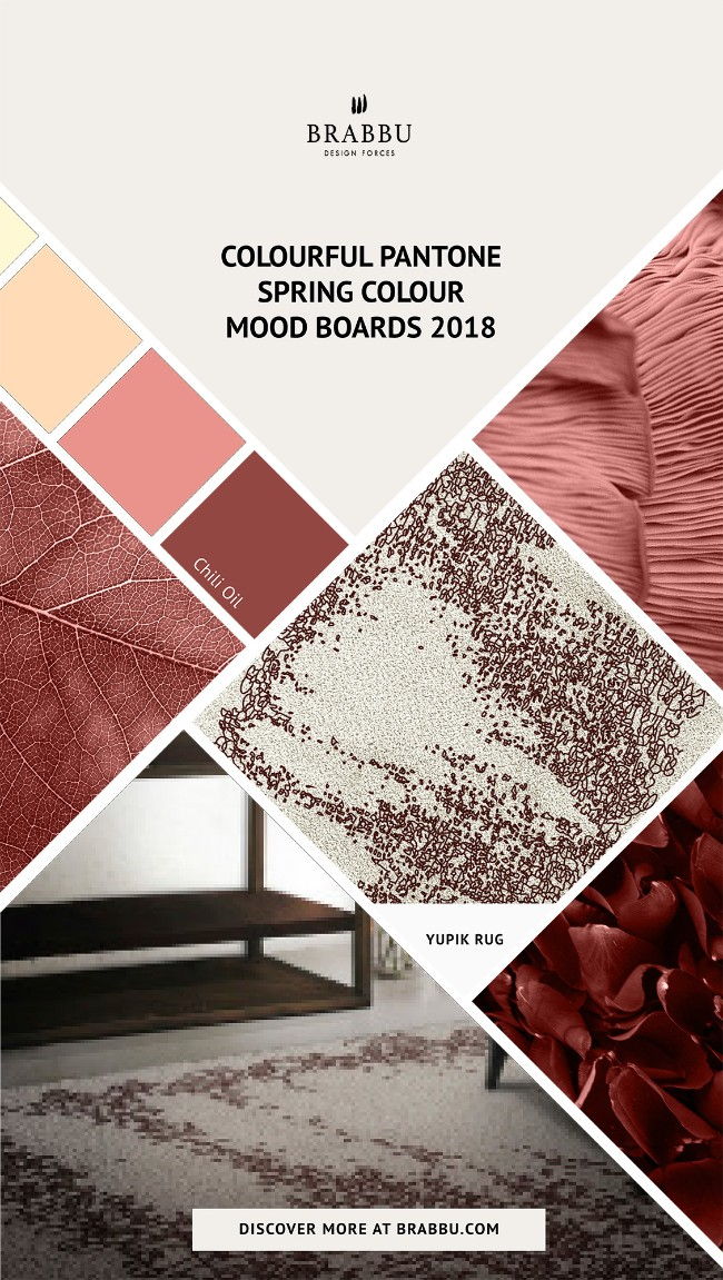 Spring Colour Trends 2018 A Pop of Colour With BRABBU's Rugs_Chili Oil Spring Colour TrendsSpring Colour Trends 2018: A Pop of Colour With BRABBU's RugsSpring Colour Trends 2018 A Pop of Colour With BRABBUs Rugs Chili Oil