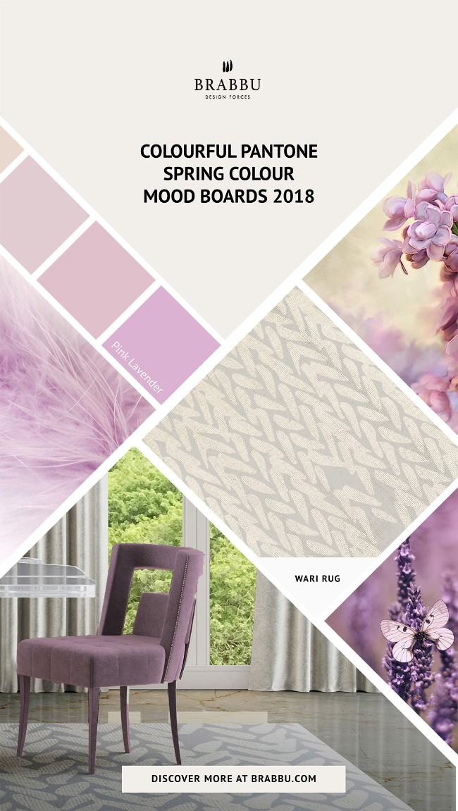 Spring Colour Trends 2018 A Pop of Colour With BRABBU's Rugs_Pink Lavender Spring Colour TrendsSpring Colour Trends 2018: A Pop of Colour With BRABBU's RugsSpring Colour Trends 2018 A Pop of Colour With BRABBUs Rugs Pink Lavender