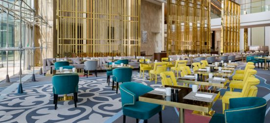 Best of Hotel Design Hilton Astana Hotel with BRABBU