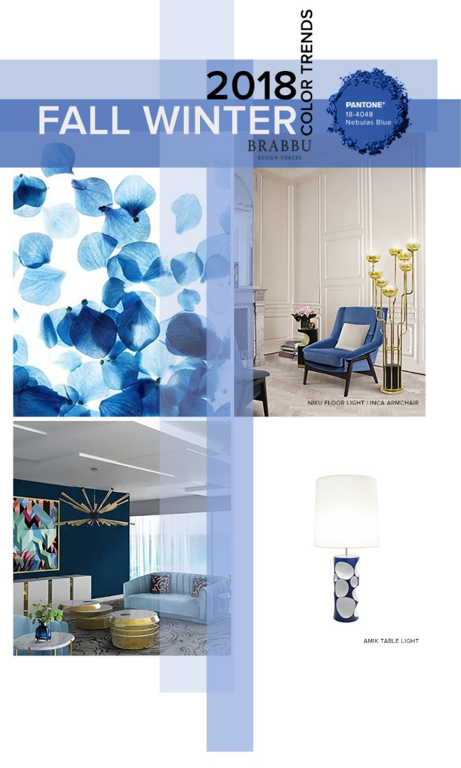 Fall Winter 2018 The Colours Unveiling New Home Decor Trends Nebulas Blue TrendsFall