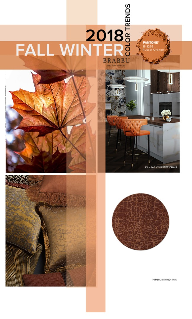Fall Winter 2018_The Colours Unveiling New Home Decor Trends_Runset Orange home decor trendsFall Winter 2018: The Colours Unveiling New Home Decor TrendsFall Winter 2018 The Colours Unveiling New Home Decor Trends Runset Orange