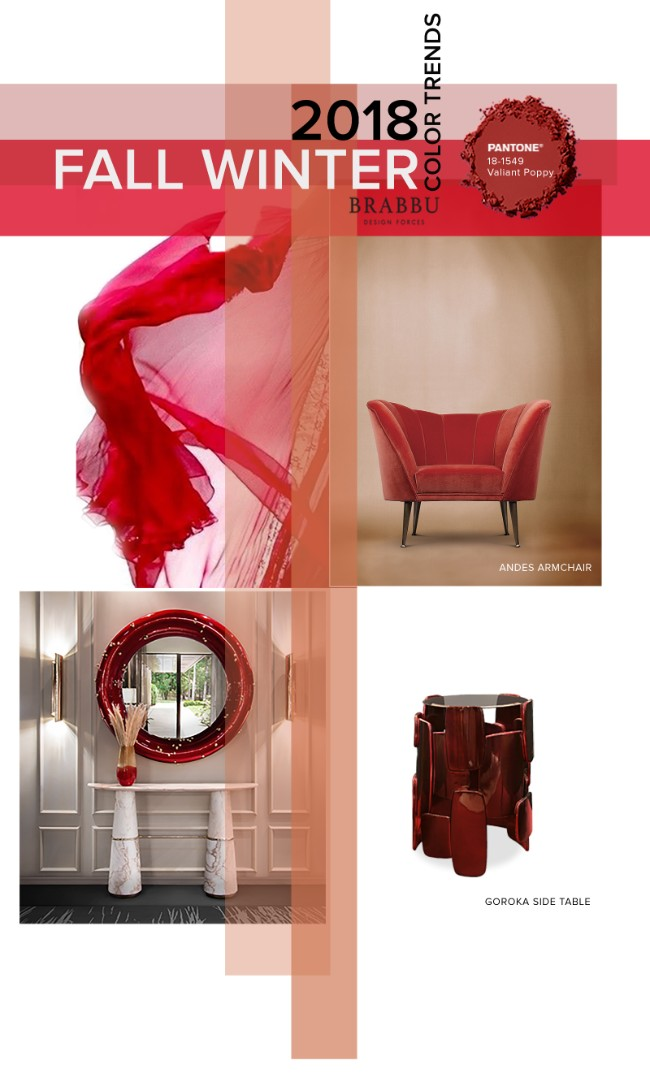 Fall Winter 2018_The Colours Unveiling New Home Decor Trends_Valiant Poppy home decor trendsFall Winter 2018: The Colours Unveiling New Home Decor TrendsFall Winter 2018 The Colours Unveiling New Home Decor Trends Valiant Poppy