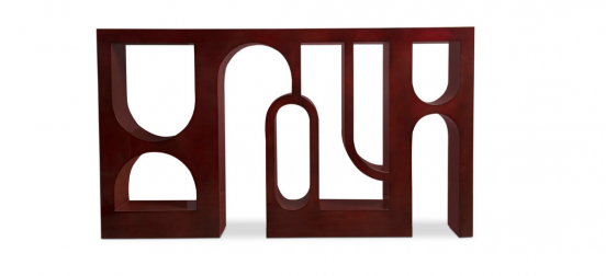 The Creative Thinking behind Colosseum Console Table Modern Design