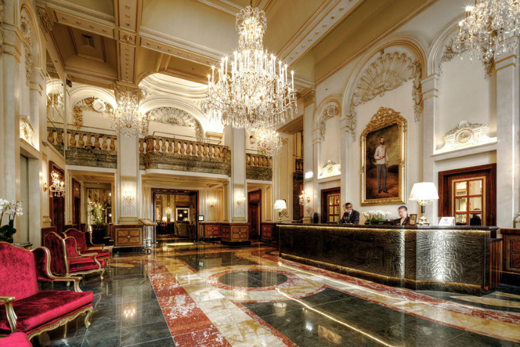 Brit List Brit List Top 25 Designers – The Brit List 2018 Imperial Hotel Vienna Design by Alex Kravetz Design