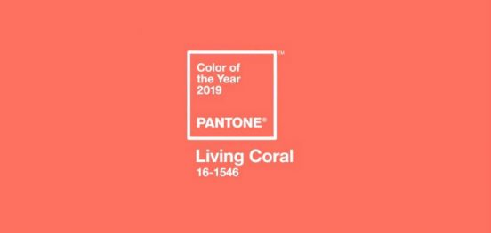 pantone color of 2019Pantone color of 2019 Revealed!living coral coral vivo cor do ano pantone 2019 552x263