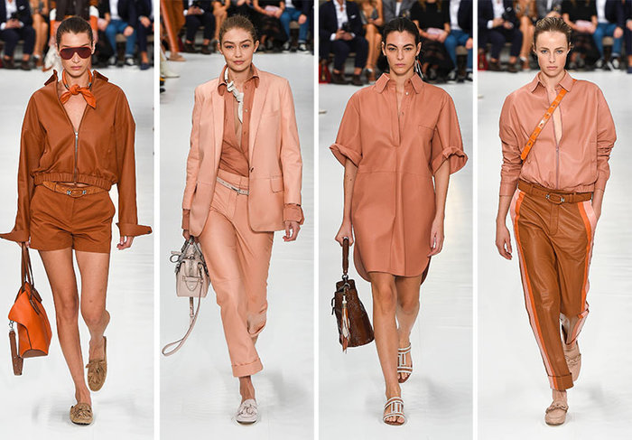 living coralLiving Coral: See how it works and where to use itrsz tods spring summer 2019 collection milan fashion week3