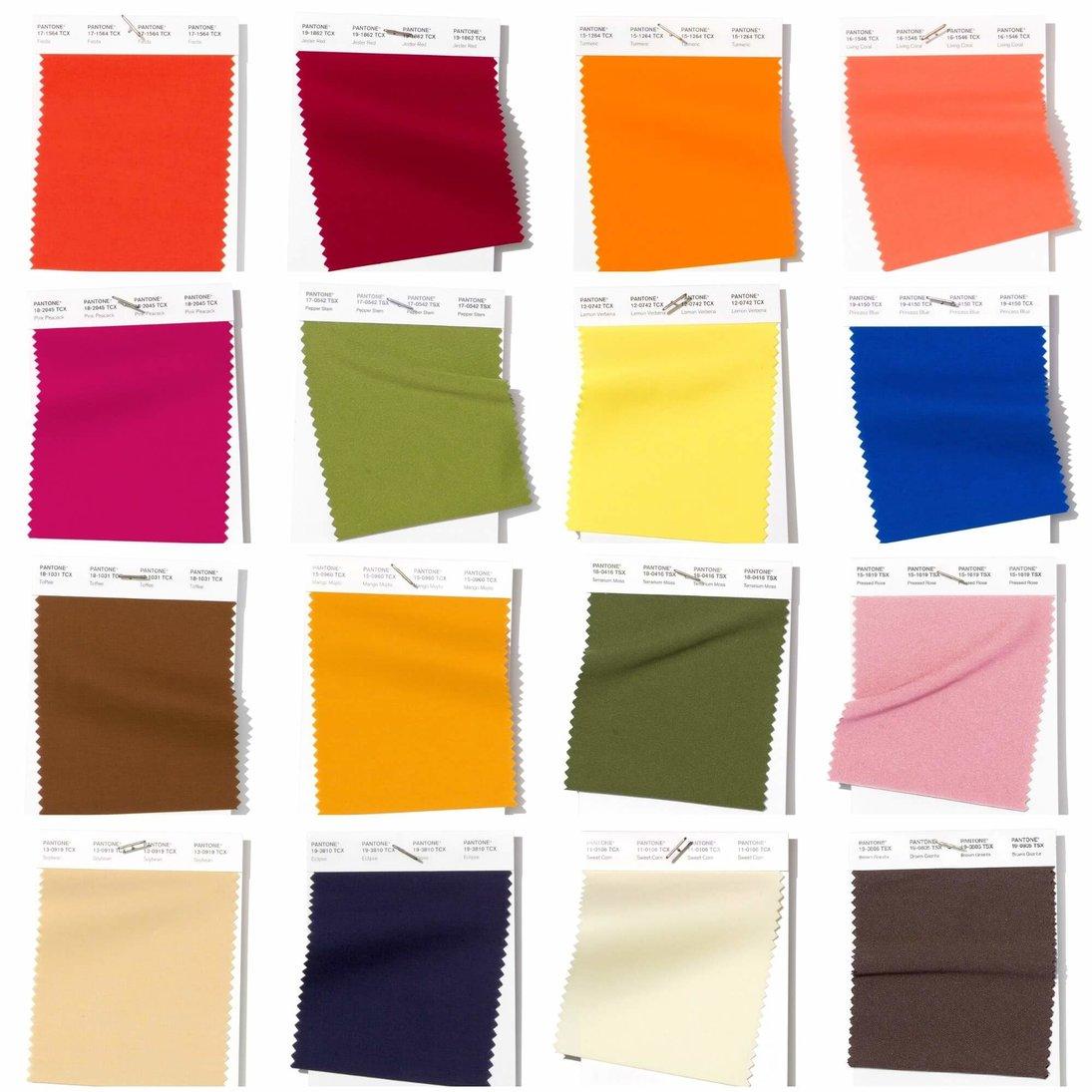 Meet the color palette for 2019 according to Pantone color paletteMeet the color palette for 2019 according to Pantonersz cveta pantone 2019 totally modnie ottenki vesna leto cveta