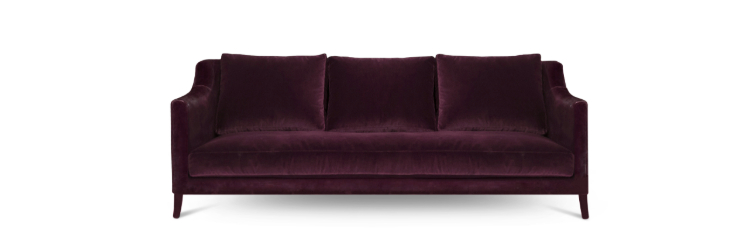 Cassis Color Cassis ColorCassis Color: The 2019 Trend of Modern Interior DesignCOMO Sofa by BRABBU 1