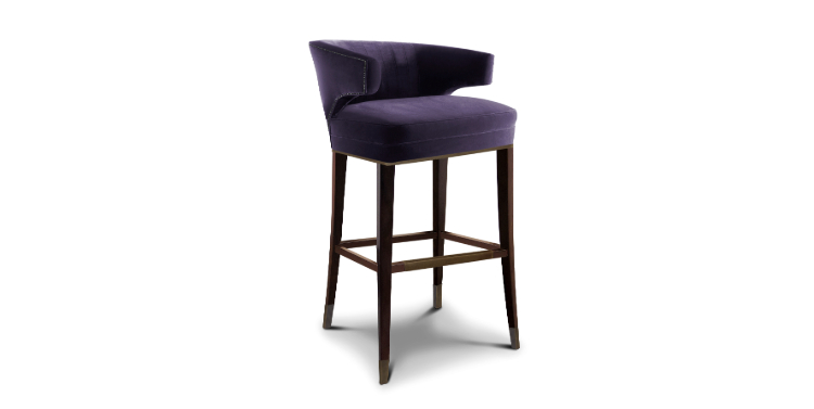 Cassis Color Cassis ColorCassis Color: The 2019 Trend of Modern Interior DesignIbis Bar Chair