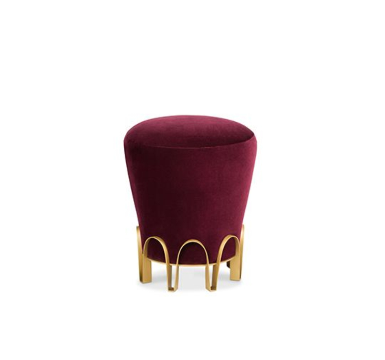 Cassis Color Cassis ColorCassis Color: The 2019 Trend of Modern Interior DesignNUI Velvet Stool Interior Design Trends 2019 1