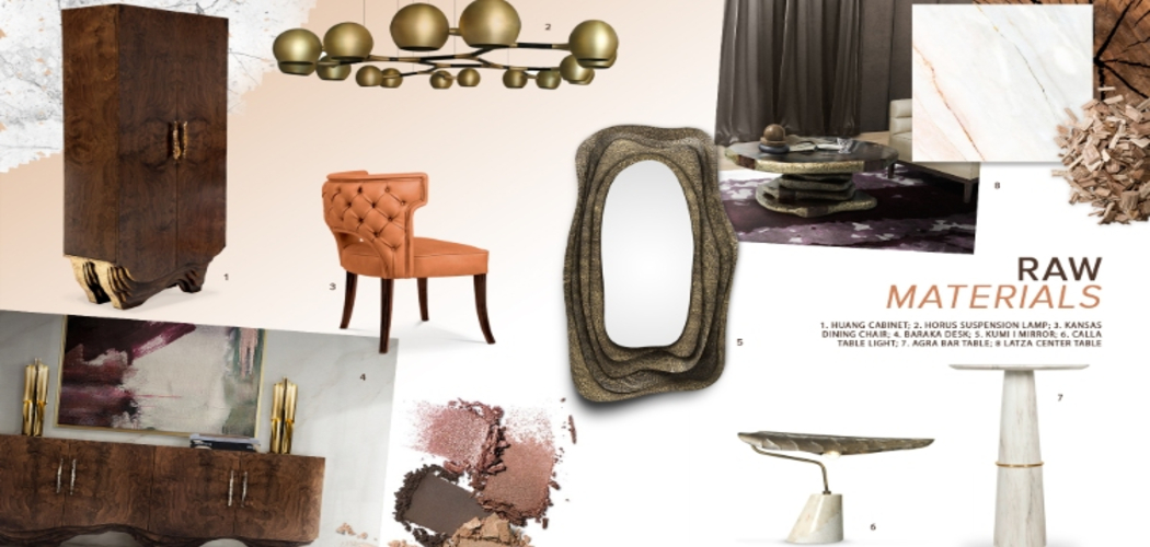 2019 interior design trends2019 Interior Design Trends: The Eminence of Raw Materials1 RAW MATERIALS