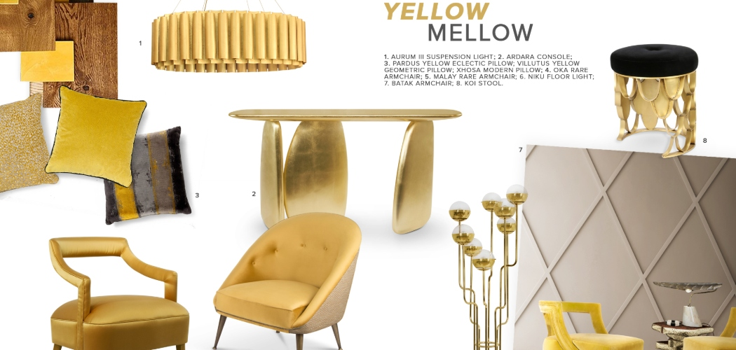 2019 interior design trendsYellow Mellow: One of the Most Exciting 2019 Interior Design Trends5 MELLOW YELLOW