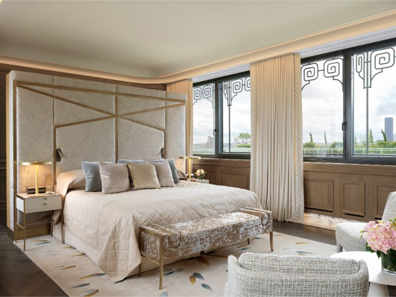 projectHotel Le Meurice: an authentic dream project by Lally & BergerBelle Etoile Suite at Hotel Le Meurice an authentic dream design by Lally Berger 5