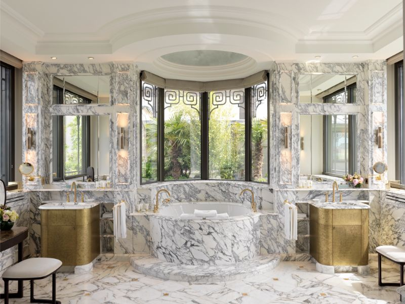 projectHotel Le Meurice: an authentic dream project by Lally & BergerBelle Etoile Suite at Hotel Le Meurice an authentic dream design by Lally Berger 6