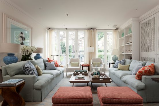 sophisticated houseSophisticated House in Central London with BRABBU´s ArmchairsN20 ARMCHAIR 552x368