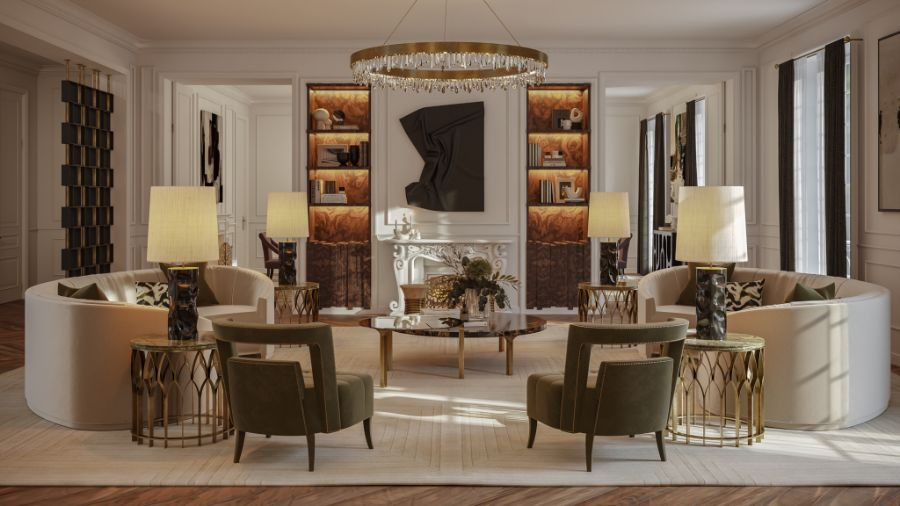 The Eternel Apartment with a Contemporary and Classic Design the eternel apartmentThe Eternel Apartment with a Contemporary and Classic DesignThe Eternel Parisian Apartment Mixing Classic and Contemporary Design 2