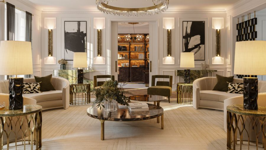 The Eternel Apartment with a Contemporary and Classic Design the eternel apartmentThe Eternel Apartment with a Contemporary and Classic DesignThe Eternel Parisian Apartment Mixing Classic and Contemporary Design 3