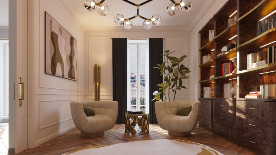 The Eternel Apartment with a Contemporary and Classic Design the eternel apartmentThe Eternel Apartment with a Contemporary and Classic DesignThe Eternel Parisian Apartment Mixing Classic and Contemporary Design 7