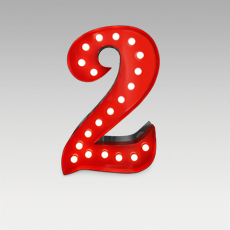 2 Number from Graphic Collection by DelightFULL