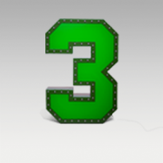 3 Number from Graphic Collection by DelightFULL