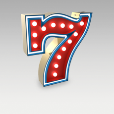 7 Number from Graphic Collection by DelightFULL