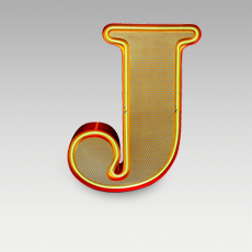 J Letter from Graphic Collection by DelightFULL