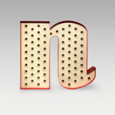 N Letter from Graphic Collection by DelightFULL