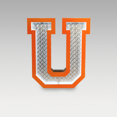 U Letter from Graphic Collection by DelightFULL