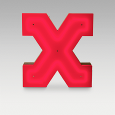X Letter from Graphic Collection by DelightFULL
