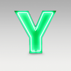 Y Letter from Graphic Collection by DelightFULL