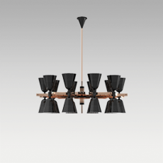 CHARLES Suspension Lamp by DelightFULL