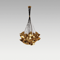 GIA Chandelier Lamp by KOKET