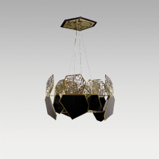 HYPNOTIC Chandelier Lamp by KOKET