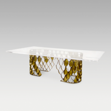 KOI Dining Table by BRABBU
