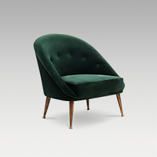 MALAY ARMCHAIR by BRABBU