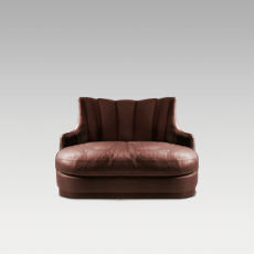 PLUM SINGLE SOFA by BRABBU