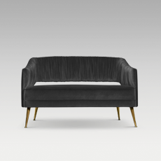 STOLA 2 SEAT SOFA by BRABBU