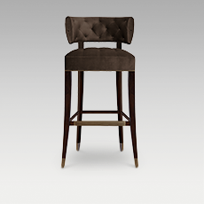 ZULU BAR CHAIR by BRABBU