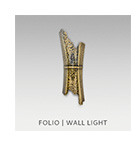 FOLIO | WALL LIGHT by BRABBU