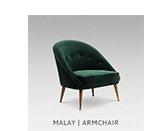 MALAY | ARMCHAIR by BRABBU