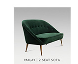MALAY | 2 SEAT SOFA by BRABBU