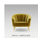 MAYA | ARMCHAIR by BRABBU